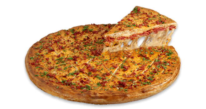 Sbarro'dan Stuffed Pizza